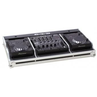 Zomo Flightcase Set 350 for 2x CDJ-350 + 1x DJM-600/800/700