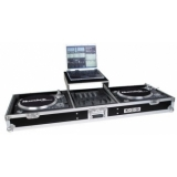 Zomo Flightcase T-600 Plus for 2x Turntable + 1x 12