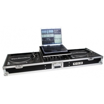 Zomo Flightcase T-600 Plus for 2x Turntable + 1x 12 #4