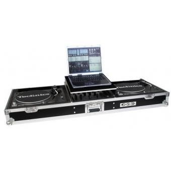 Zomo Flightcase T-600 Plus for 2x Turntable + 1x 12 #4