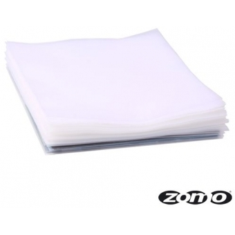 Zomo LP Sleeves Strong 150 transparent 100 pieces