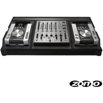 Zomo Flightcase Set 200 NSE for 2x Pioneer CDJ-200 + 1x DJM-800