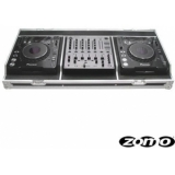 Zomo Flightcase Set 1000 for 2 x CDJ-2000/1000 + 1 x DJM-600/700