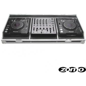 Zomo Flightcase Set 1000 for 2 x CDJ-2000/1000 + 1 x DJM-600/700