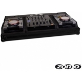 Zomo Flightcase Set 400 MK2 NSE for 2x CDJ-400 + 1x DJM-600