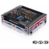 Zomo Flightcase DJM-2000 UK Flag for Pioneer DJM-2000