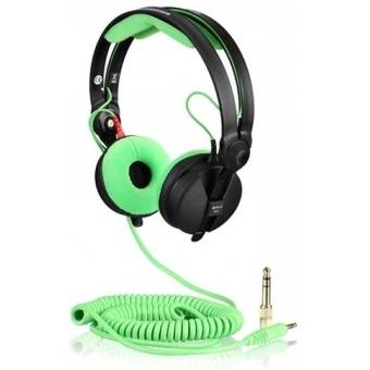 Spiralkabel DeLuxe for Sennheiser Headphone HD 25 3,5m mint