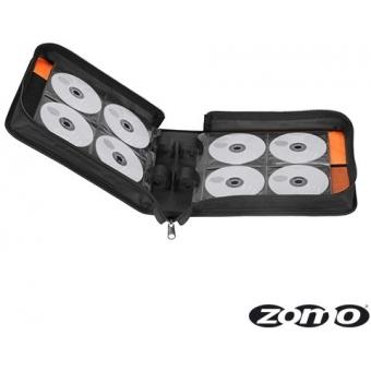 Zomo CD-Bag Large Black/Orange MK2 #5