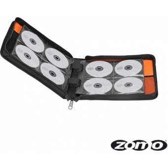 Zomo CD-Bag Medium Black/Orange MK2 #6