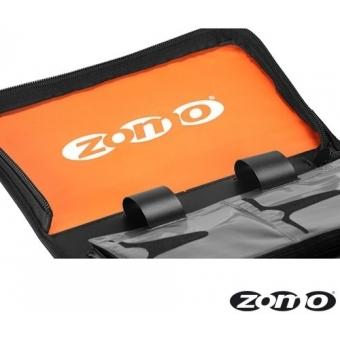 Zomo CD-Bag Medium Half Black/Orange MK2 #3