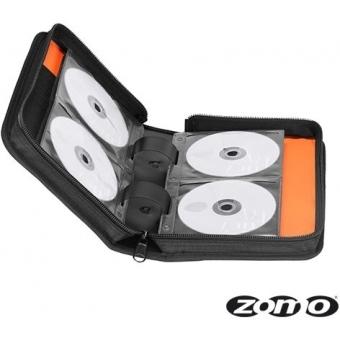 Zomo CD-Bag Medium Half Black/Orange MK2 #6