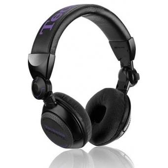 Earpad Set Velour black for Technics RP-DJ1200/1210