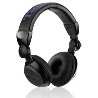 Earpad Set black for Technics RP-DJ1200/1210