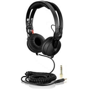 Spiral Cable DeLuxe for Sennheiser Headphone HD 25 3,5m black