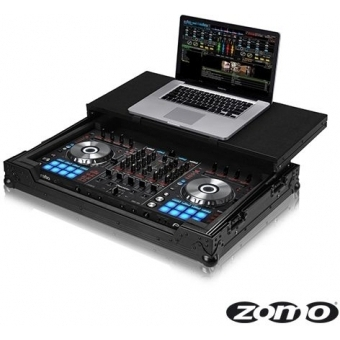 Zomo Flightcase P-DDJ-SX/2 Plus NSE for 1x Pioneer DDJ SX + Laptop