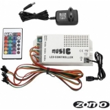 Zomo Deck Stand LED RGB 3-Channel Sound-Control with power supply
