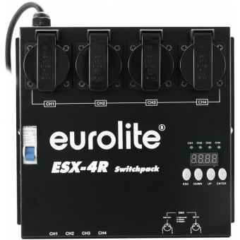 EUROLITE ESX-4R DMX RDM Switch Pack #2