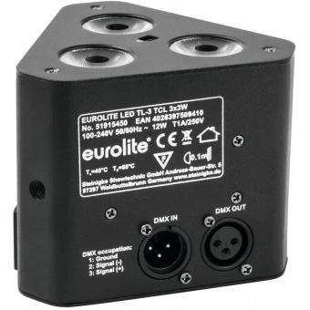 EUROLITE LED TL-3 TCL 3x3W Trusslight #2