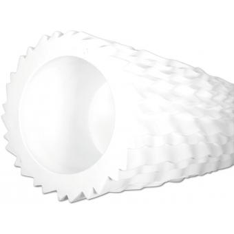 EUROPALMS Design pot LAMELLA-140, white #2