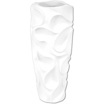 EUROPALMS Design pot BUBBLE-90, white