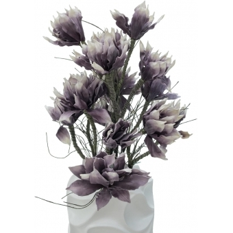 EUROPALMS Design pot BUBBLE-90, white #7