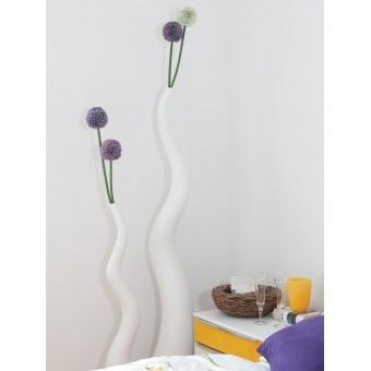 EUROPALMS Design vase WAVE-125, white #7