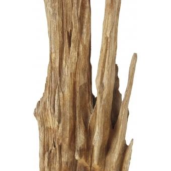 EUROPALMS Natural wood sculpture, slim 190cm #4