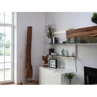 EUROPALMS Natural wood sculpture, slim 190cm #10