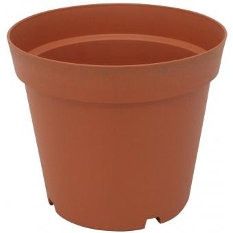 EUROPALMS Flowerpot plastic, red, 24cm