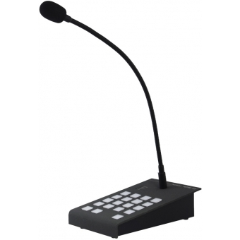 APM116 - Digital paging microphone with 16 function buttons