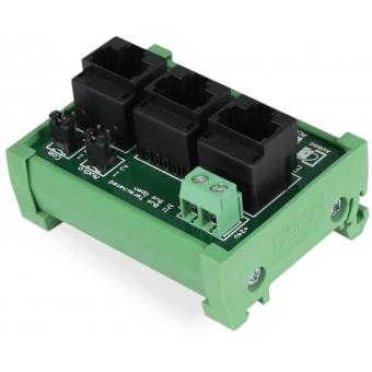 ARJ03P - Rj 45 3-way Junction Forapm-series Power Connection