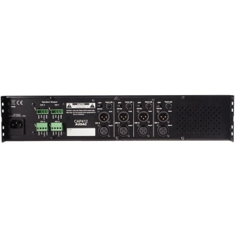 CAP412 - Quad Channel 100v Power Amplifier - 4 X 120w
