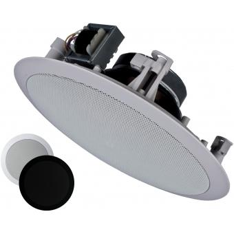 CIELO 120 - Ceiling Speaker Set +/-120m² COM24 + 10X CS75 - BLACK VERSION #3
