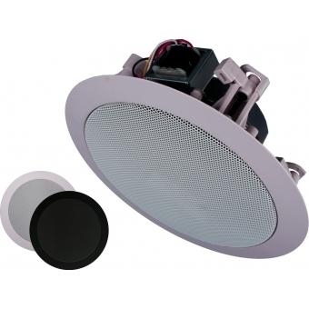 CIELO 200 - Ceiling Speaker Set +/-200m² COM12 + PDM200 + 20X CS55 - BLACK VERSION #3