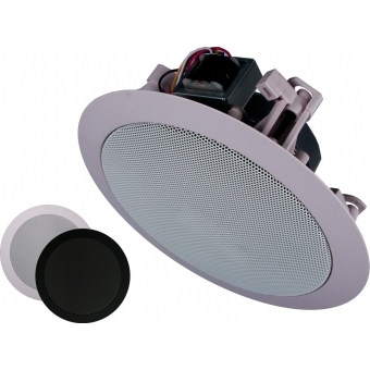 CIELO 40 - Ceiling Speaker Set +/-40m² COM3 + 4X CS55 - BLACK VERSION #3