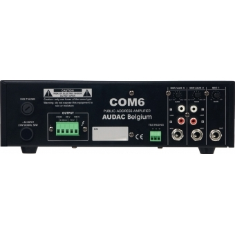 COM6 - Public Address Amplifier 60w 100v - Eu Version #2