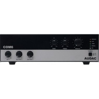 COM6 - Public Address Amplifier 60w 100v - Eu Version