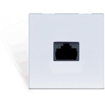 CP43ARP/W - Connection Plate - Rj45+ Repeater - Bticino - White