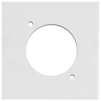 CP43DSZ - Wall Panel with D-size hole - Black Version #3