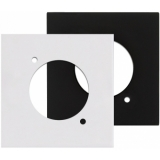 CP43DSZ - Wall Panel with D-size hole - Black Version