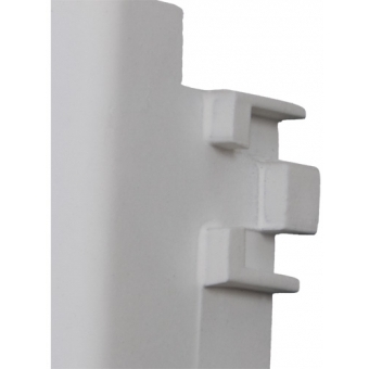 CP43DSZ - Wall Panel with D-size hole - White Version #4