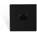 CP45ARJ/B - Connection Plate - Rj45junction Box - 45x45mm - Black