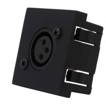 CP45XLF/W - Connection Plate - D-size Xlrfemale - 45x45mm - White #3