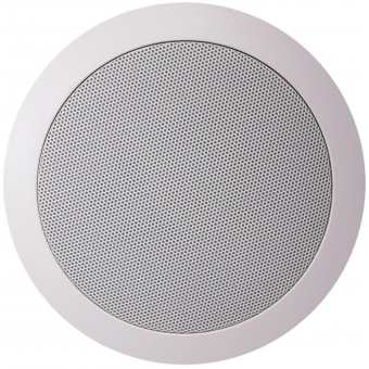 "CS74/W - Quick-fit™ 2-way 5 1/4"" ceiling speaker 8 Ohm/100V - White version (RAL9010)"