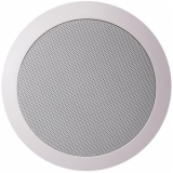 CS74/W - Quick Fit 2way Ceiling Speaker 6w/100v & 8ohm - Ral9010