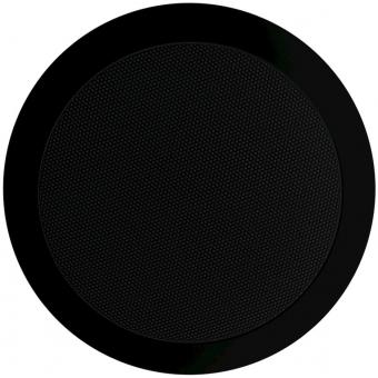 CS74/B - Quick Fit 2way Ceiling Speaker 6w/100v & 8ohm - Black