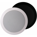 CS75/W - Quick Fit 2way Ceiling Speaker 24 W/100v & 8ohm - Ral9010