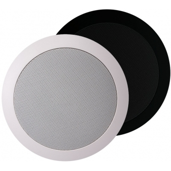 CS75/B - Quick Fit 2way Ceiling Speaker 24 W/100v & 8ohm - Black