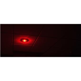 CSE55 - Ceiling speaker with integrated RED led unit (24V) - 100 Volt - 10 Watt RMS / 6 Watt transformer #3