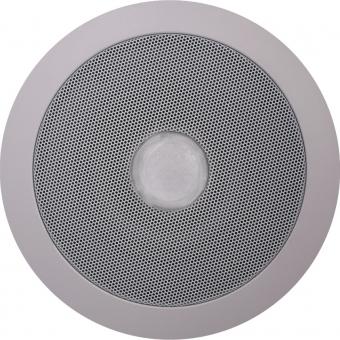 CSE55 - Ceiling speaker with integrated RED led unit (24V) - 100 Volt - 10 Watt RMS / 6 Watt transformer
